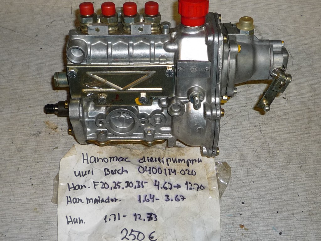 Hanomac dieselpumppu
